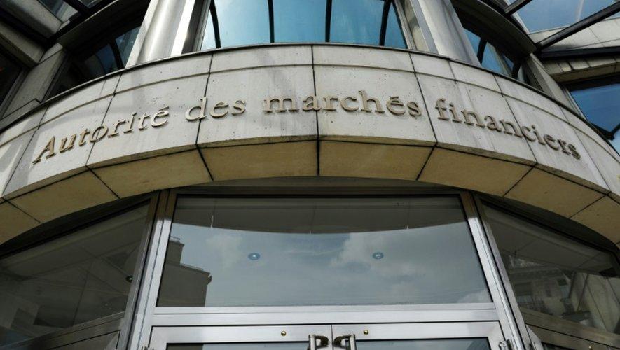 Le siège de l'Autorité des marchés financiers (AMF) à Paris, le 2 juin 2014. Le régulateur boursier français a ouvert une enquête dans l'affaire du faux communiqué qui a touché Vinci