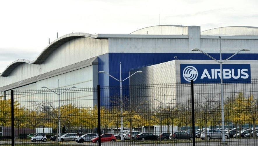 Les bâtiments de l'usine d'assemblage Airbus de Blagnac le 25 novembre 2016