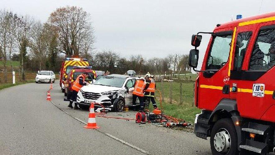 Savignac : un blessé dans la collision