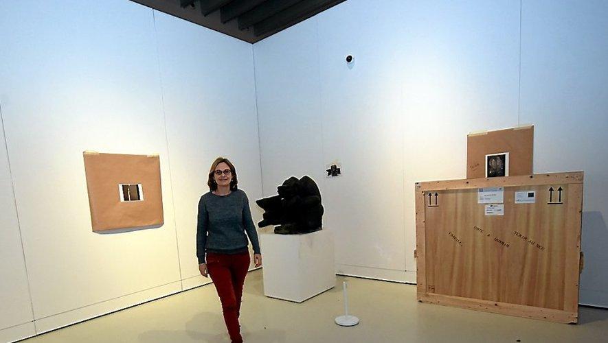Aurore Méchain avait envie depuis très longtemps d'œuvrer autour du théme du temps. L'expo d'hiver du musée Soulages est le fruit de cette réflexion.