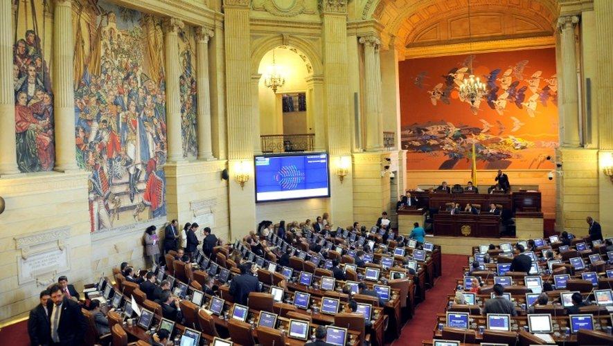 La Chambre des Représentants de Colombie, le 30 novembre 2016 à Bogota