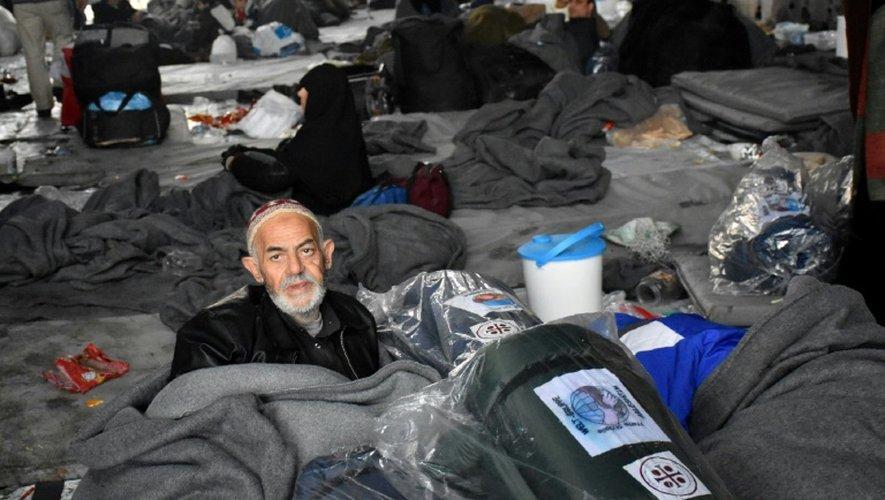 Un refuge pour les civils qui tentent de fuir les combats à Alep, en Syrie, le 1er décembre 2016