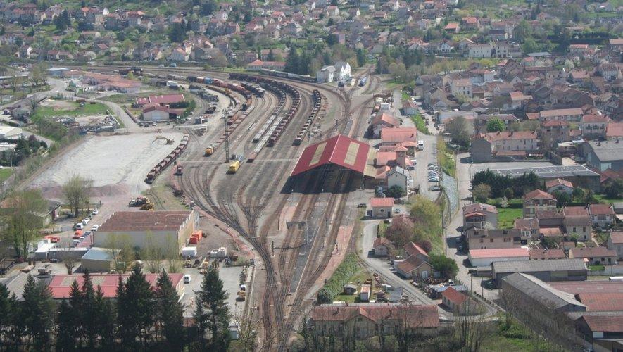L'incident s'est produit en gare de Capdenac jeudi soir.