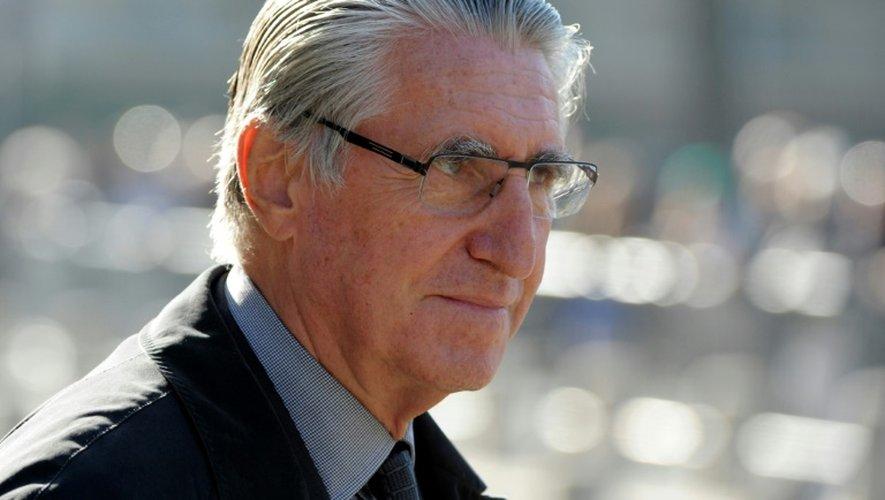 Ernest-Antoine Seillière, le 27 octobre 2014 à Paris