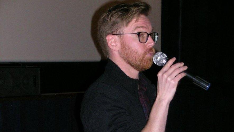 Le réalisateur Olivier Dickinson.