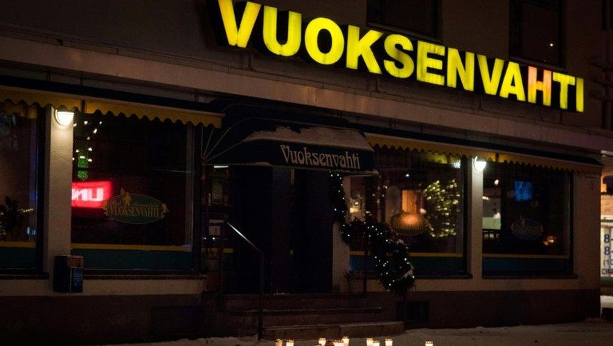 Le restaurant d'Imatra, en Finlande, à la sortie duquel trois femmes ont été assassinées, le 4 décembre 2016