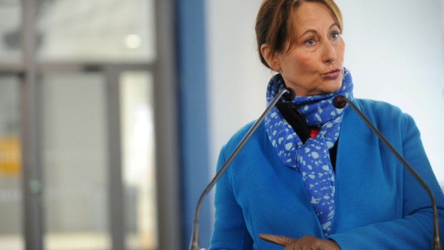 La ministre française de l'Ecologie Ségolène Royal le 19 novembre 2016 à Brest