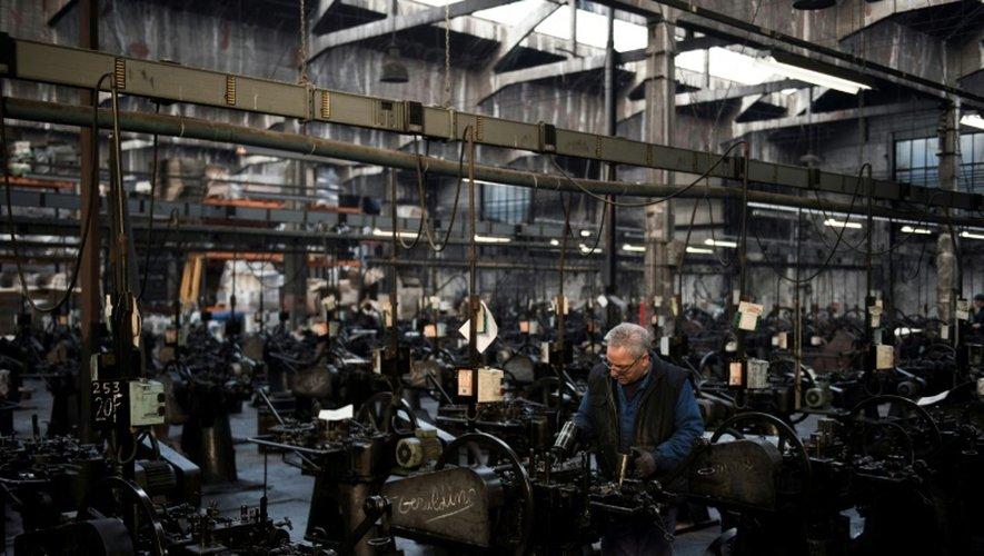 Les 325 machines de la salle, toutes construites entre 1895 et 1925, forment un immense orchestre de fonte et d'acier