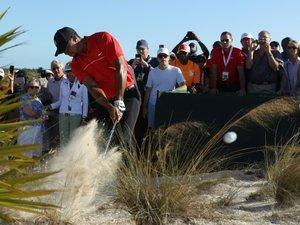 """Golf: Tiger Woods, la longue et lente reconstruction du """"Tigre"""""""