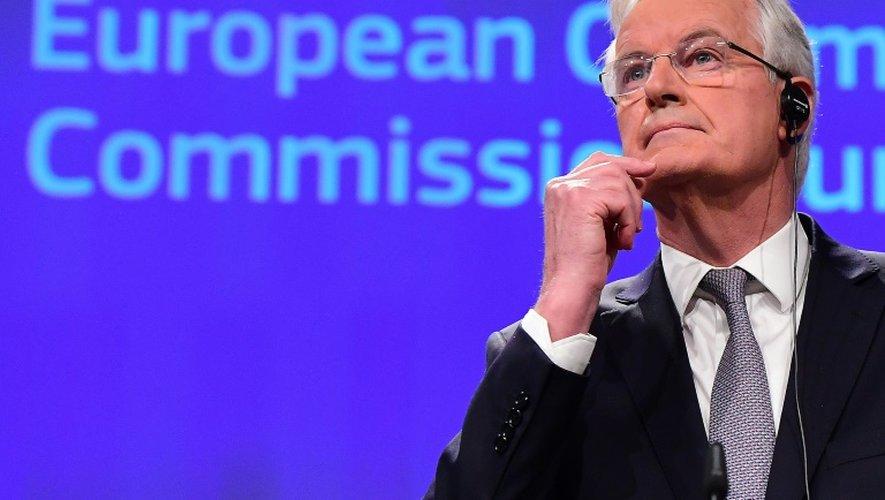 Le négociateur en chef de la Commission européenne Michel Barnier à Bruxelles, le 6 décembre 2016