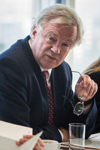 David Davis, ministre britannique du Brexit, le 5 décembre 2016 à Londres