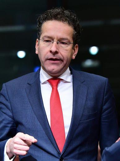 Le président de l'Eurogroupe Jeroen Dijsselbloem, à Bruxelles le 5 décembre 2016