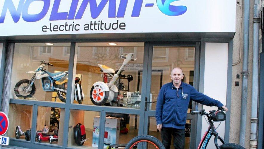 Commerce : No Limit-e ouvre rue Béteille, à Rodez