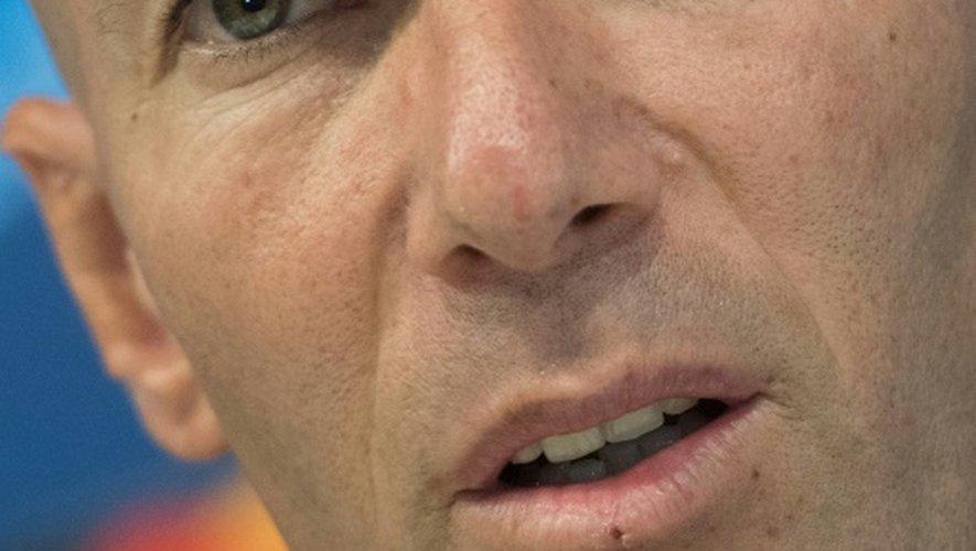 L'entraîneur du Real Zinédine Zidane, le 6 décembre 2016 à Madrid