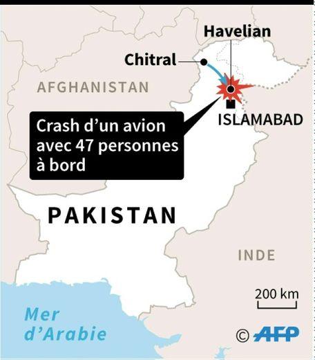 Crash d'avion au Pakistan