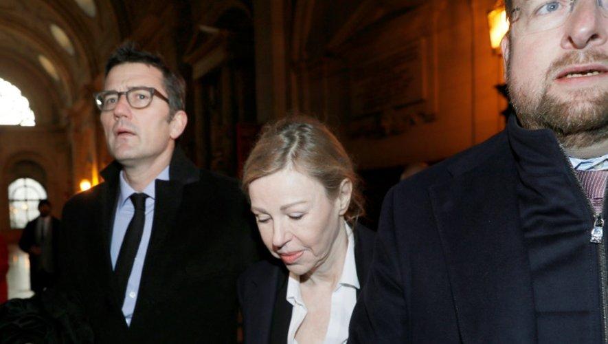 Patricia Menard à son arrivée au palais de justice le 8 décembre 2016 à Paris