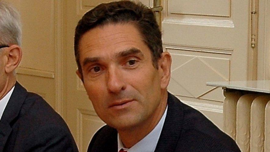 Louis Laugier, préfet de l'Aveyron.
