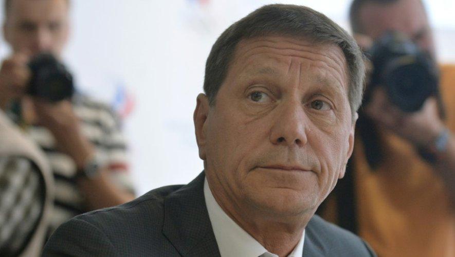 Le président du comité olymmique russe  Alexander Zhukov le 20 juillet 2016 à Moscou