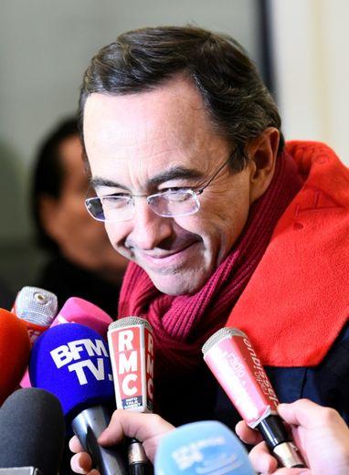 Bruno Retailleau, président de la région Pays de la Loire, à Paris, le 29 novembre 2016