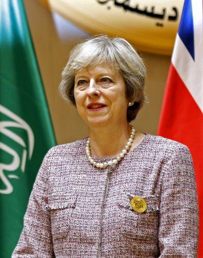 La Première ministre britannique Theresa May à Manama, au Bahreïn, le 7 décembre 2016