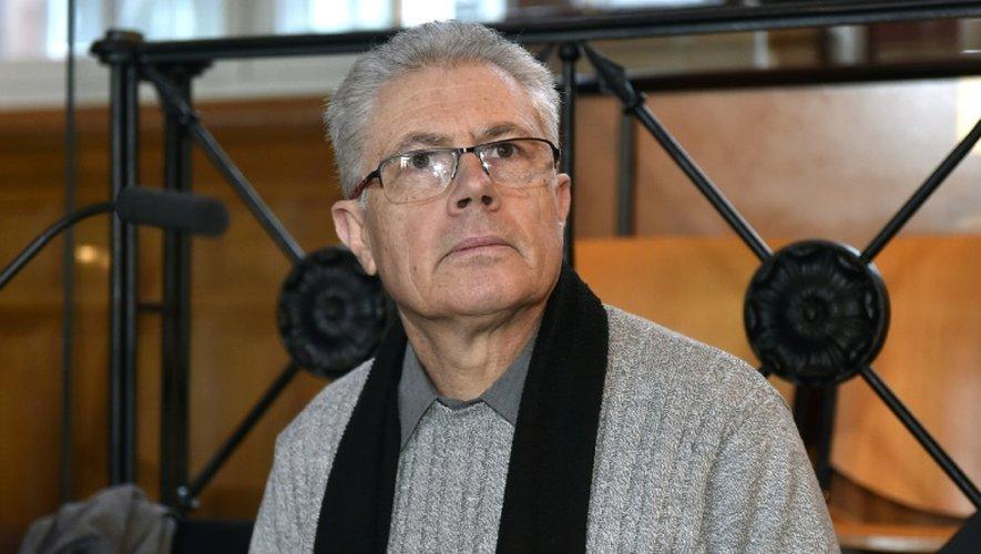 Luc Fournié devant la cour d'assises d'appel de la Haute-Garonne, le 7 décembre 2016