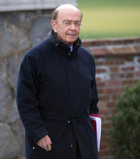 Wilbur Ross à Bedminster, aux Etats-Unis, le 20 novembre 2016