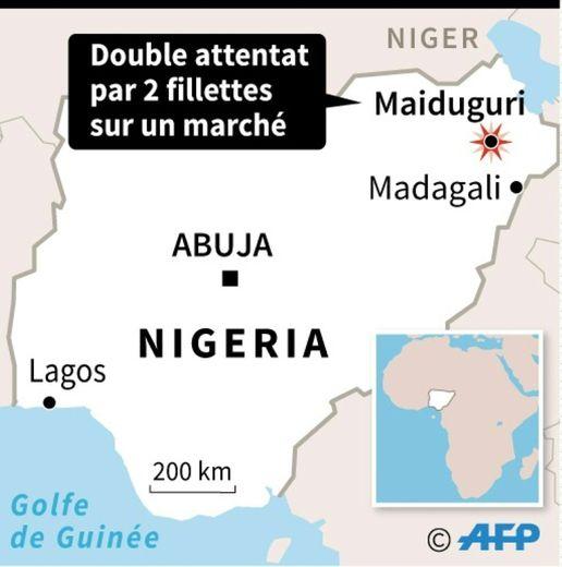 Double attentat au Nigeria