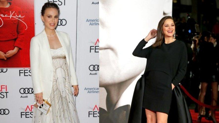 Looks de grossesse : Natalie Portman et Marion Cotillard, toutes deux enceintes du 2e bébé