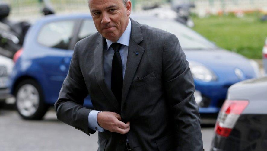 Stéphane Richard, PDG d'Orange, le 19 mars 2014 à Paris