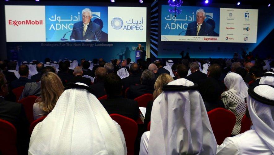 Rex Tillerson le 7 novembre 2016 à Abou Dhabi