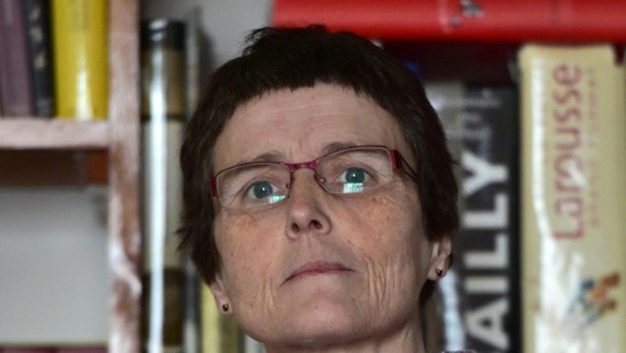La mathématicienne française Claire Voisin, le 5 décembre 2016 à Paris