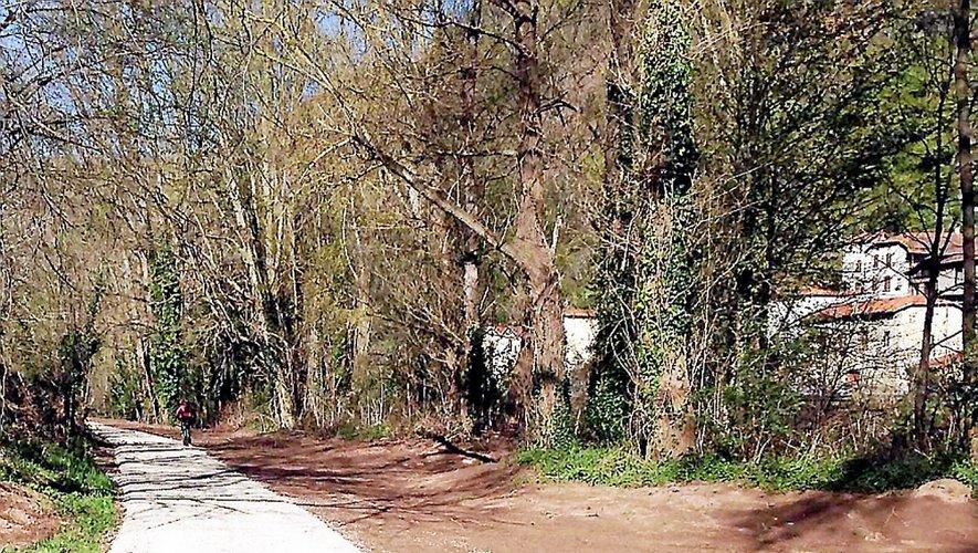 Les travaux ont débuté depuis quelques mois, comme ici à Laroque-Bouillac.