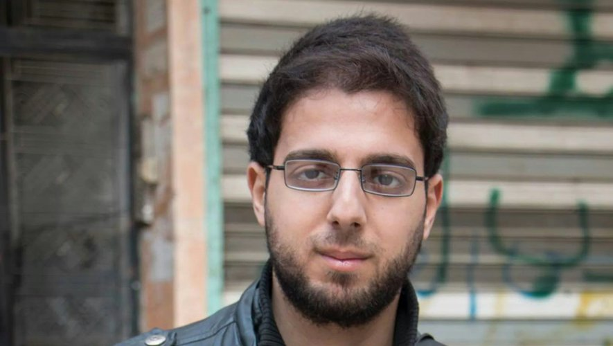 Karam Al-Masri, journaliste de l'AFP à Alep, photo non datée