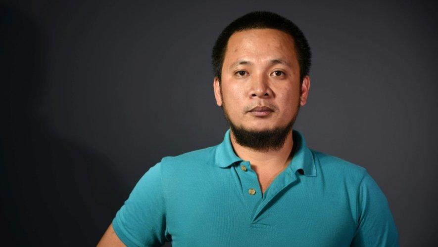 Le photographe de l'AFP aux Philippines Noël Celis, le 13 décembre 2016 à Paris