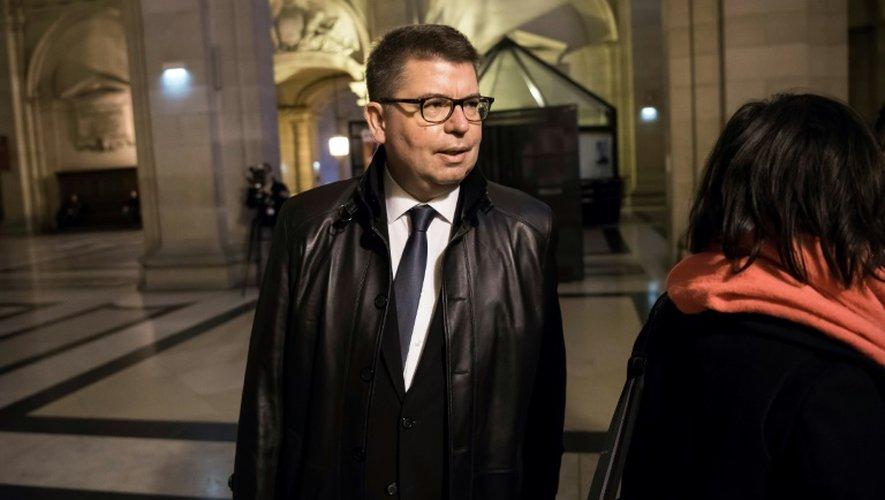 Bruno Bézard ancien directeur général du Trésor arrive au Palais de justice de Paris le 14 décembre 2016