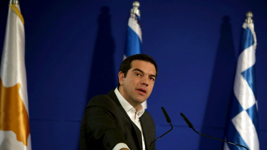 Alexis Tsipras le 8 décembre 2016 à Jérusalem