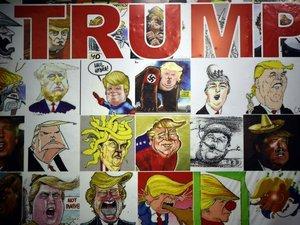 Trump, un cadeau un peu empoisonné pour les caricaturistes