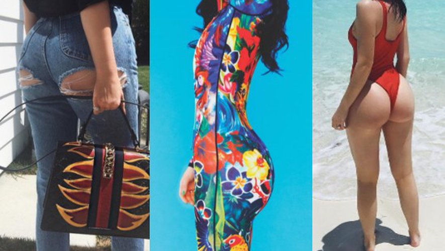 Sexy et généreuses, les fesses de Kylie Jenner font concurrence à celles de Kim Kardashian