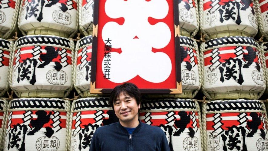 """Le Japonais Shigetaka Kurita, créateur des """"emoji"""", le 30 novembre 2016 à Tokyo"""