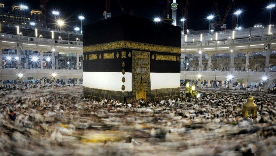 Des musulmans en pélerinage le 21 septembre 2015 à La Mecque