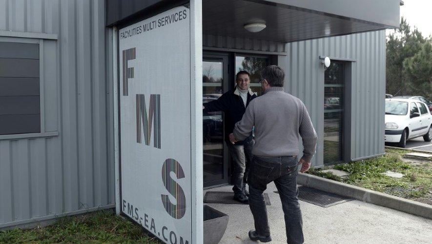 Vue extérieure en date du 25 novembre 2016 du siège de la société FaCylities Multi Services (FMS) à Saint-Geours-de-Maremne