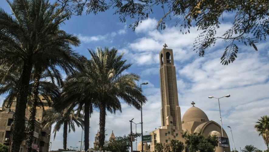 La cathédrale Saint-Marc, au Caire, le 15 décembre 2016