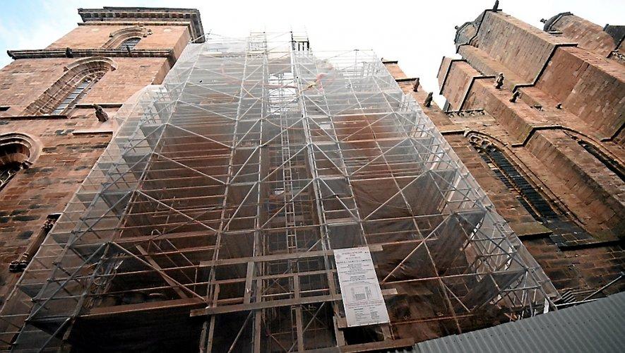 De nouveaux financements devraient être débloqués en suivant (fin 2017 ou début 2018), pour entamer la rénovation de la façade ouest (côté place d'Armes) de la cathédrale.