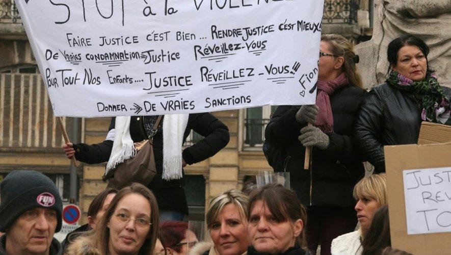 Marche contre la violence, le 19 décembre 2016 à Reims
