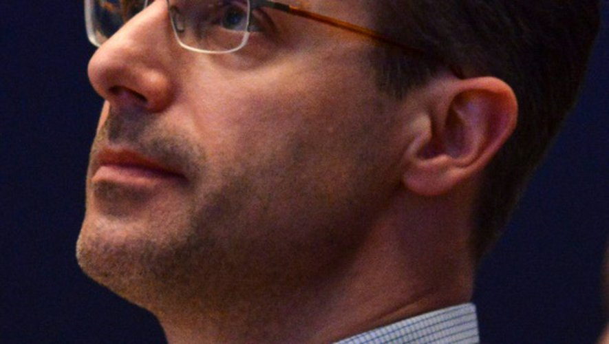 Marcus Pretzell, responsable du mouvement Alternative pour l'Allemagne (AfD), à Stuttgart le 1er mai 2016