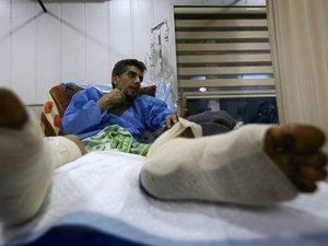 Irak: à Mossoul, les obus des jihadistes blessent encore