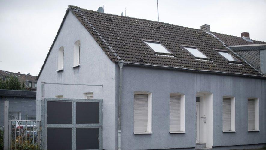 """La maison où vivait Ahmad Abdulaziz Abdullah A. alias """"Abou Walaa"""", surnommé """"le prédicateur sans visage"""", arrêté par la police allemande, le 8 novembre 2016 à Toenisvorst"""