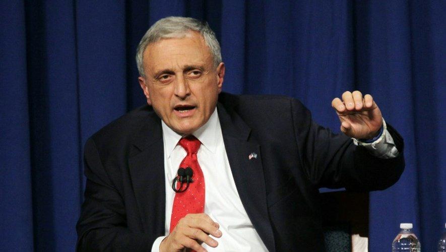 Carl Paladino, co-président de la campagne de Donald Trump, à Hempstead, aux Etats-Unis, le 18 octobre 2010