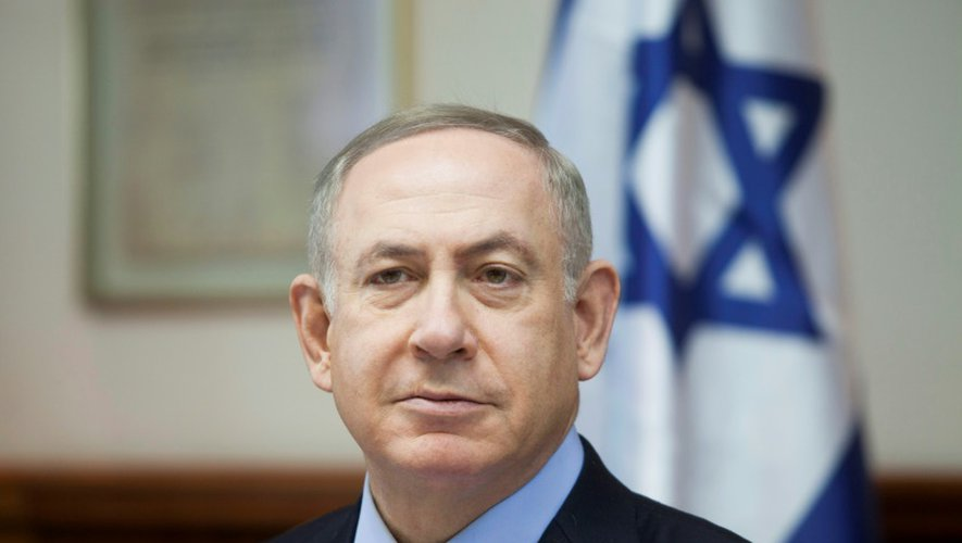 Le Premier ministre israélien Benjamin Netanyahu, le 25 décembre 2016 à Jérusalem