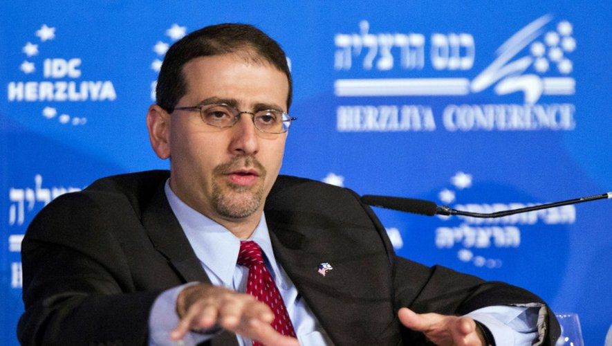 L'ambassadeur des Etats-Unis en Israël Daniel Shapiro, le 12 mars 2013 à Herzliya (north de  Tel Aviv)